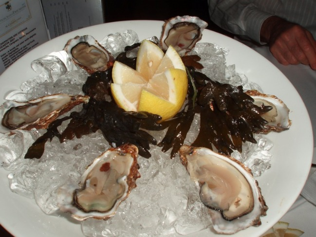 Oysters from France
