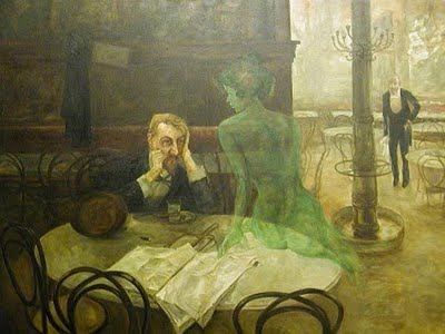 absinthe painting