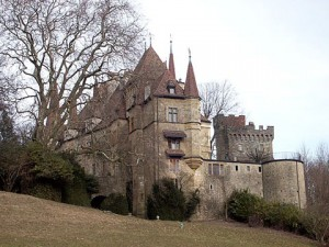 My great-grandfather, Antoine Borel\'s beloved Château Gorgier
