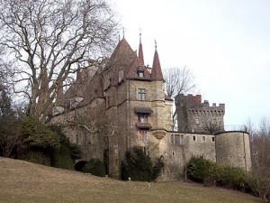 My great-grandfather, Antoine Borel\'s beloved Château Gorgier