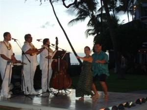 Hawaiian Music and Hulu Dancing