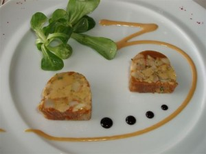 Foie Gras and Lobster