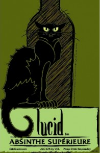 Lucid Absinthe logo all rights owned by Vinidian Spirits