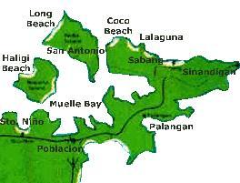 Beaches Map