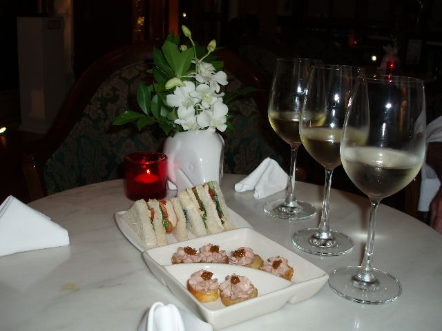 Flight of Wines with Appetizers