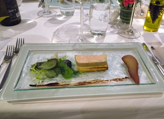Foie Gras at Le Beaulieu
