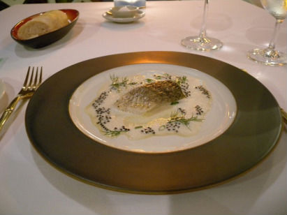 Seabass with Caviar, Cafe Siam (image credit: restaurantdiningcritiques.com)