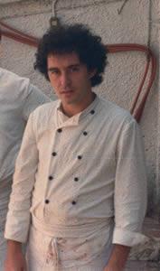 Ferran Adria, working at El Bulli, 1983