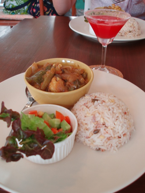 Nepalese curry at Parden