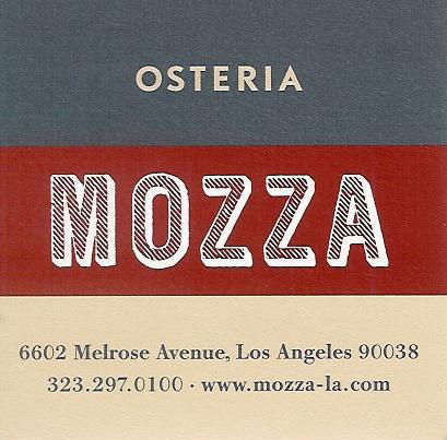 Osteria Mozza (image credit: Osteria Mozza)