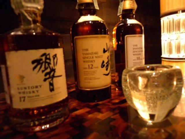Japanese Whisky Bottles