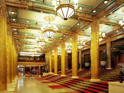 Beijing Lobby, image credit: Beijing Hotel
