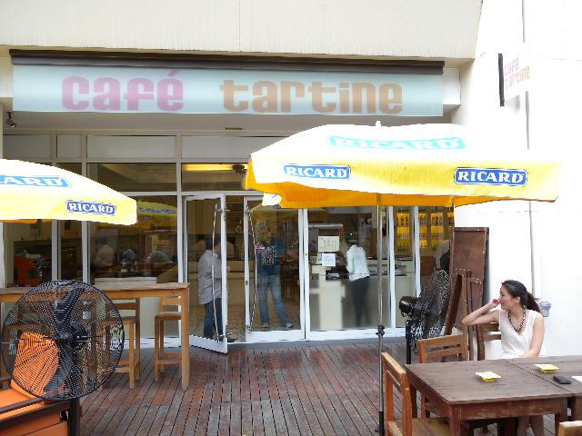 Cafe Tartine Terrasse