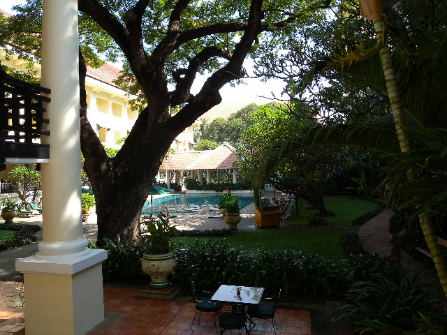 Raffles Hotel Le Royal, Pool