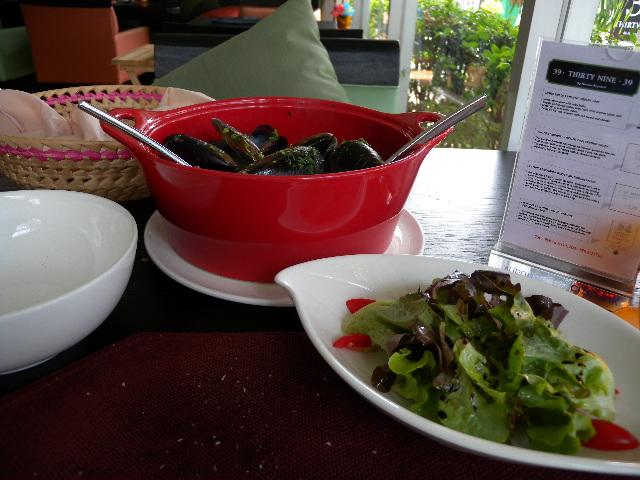 Tasmanian mussels