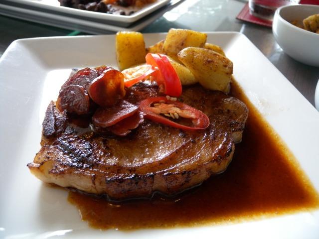 Spiced Pork Chop