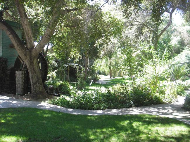 Garden at Le Chene