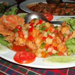 Deep Fried Red Snapper with Sweet & Sour Sauce