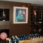 Painting by Christian Develter, Wines by Wine Connection Co. Ltd.